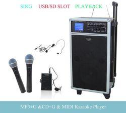 TK-T32 l'usinage chant CD+G/MP3+G/MIDI Karaoké Système avec USB/SD