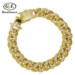 925 jóias de prata Custom jóias com diamantes bracelete jóias Colar Zircónia Cúbicos Cadeia Cuba Jóias