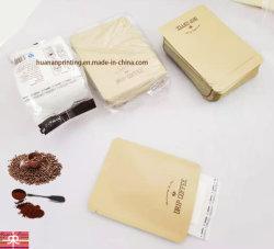 3 Seiten Dichtbeutel Aluminium Folie Material Matt Finishing für Kaffeeverpackung