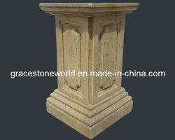 Tallados en piedra arenisca de maceta Pedestal, Base de granito