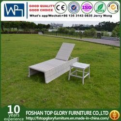 Nouveau design du rotin pour chaise longue mobilier extérieur (TG-6008)