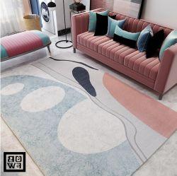Нерегулярные берега ковров и ковровых покрытий в таблице Кофе комната коврики пола Tuft ручной работы ковры с байонетной защелкой ковер