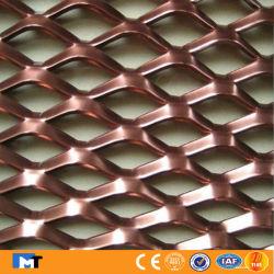Dekoratives AluminiumEdelstahl-Kupfer erweitertes perforiertes Metalldraht-Ineinander greifen