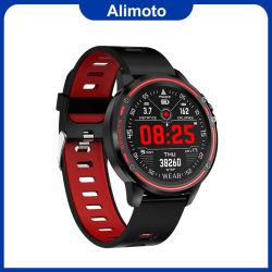 Alimoto L8 resistente al agua IP68, Control de música sincrónica Sport Reloj inteligente