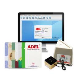 Adel Hotel Lock 스마트 카드 리더를 Induction Card에 고정했습니다 기계 호텔 도어 카드 발급 전기 장비 사용