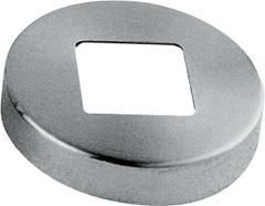 50мм 304 сталь круглого основания крышку фланца балкон поручень после установки