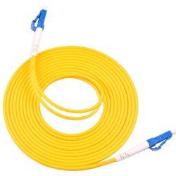 La fabricación de alta calidad de simple//LC Duplex monomodo multimodo SC St de fibra óptica FC Conector de cable de conexión de cable para centros de datos