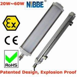 Atex/UL het Explosiebestendige LEIDENE Lineaire Fluorescente Licht van de Buis