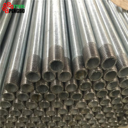 La norme ASTM A106 A53 Grb Pre-Galvanized de tuyaux en acier trempé à chaud