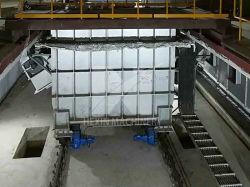 Bens móveis de aço pote de zinco para linha de galvanização