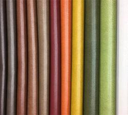 Super Soft Artificial sintético Vegan PVC tapizado de muebles de cuero de PU/Sofá tapizado del asiento/COCHE/bolsas/Zapatos/Paños -Toledo
