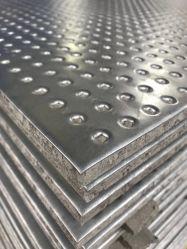 Folha de aço & Fibrocimento Painel Composto de proteção contra incêndio da placa de impacto