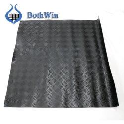 Diamante negro Hoja de caucho para calzado único 0.6-1.2mm