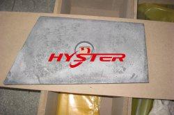 700bhnによって薄板にされる白い鉄の掘削機はバイメタルの合成の版を分ける