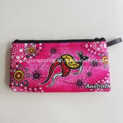 패션 네오프렌 스튜던트 펜슬 백 지갑 휴대 전화 가방