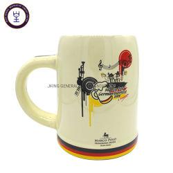 500ml style allemand de la bière en céramique Mug ronde avec l'or de l'impression