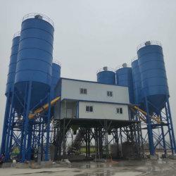 Luda Hzs90 90m3/H 각자 선적 믹서 트럭, 구체적인 시멘트 섞는 플랜트