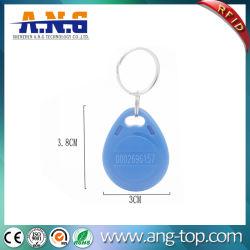 ABS durável via RFID chave porta Tag para controle de acesso