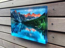 Cadre Photo en acrylique à montage mural imprime