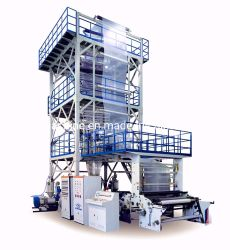 ABC trois couches de film agricole Co-Extrusion biodégradable machine de soufflage de Polyéthylène
