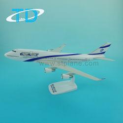 Modèle Plan de Boeing B747-400 EL Al 35cm 1/200 jouet en plastique