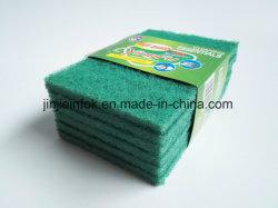 ナイロンクリーニングのスポンジの磨くパッド