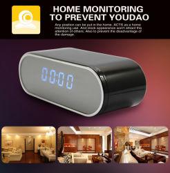 H. 264 Mini relógio electrónico Dvrfull HD 1080P Câmara Remota WiFi infravermelho Gravador de vídeo e voz