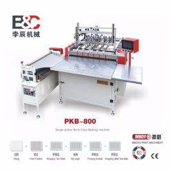 Sola Estación Pkb-800 Semi-Auto Portada del libro que hace la máquina/máquina de hacer caso/Caso Maker