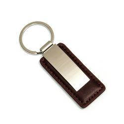 Tecla de couro PU Marrom clássico Titular Apenas telefone on-line suporte telefónico personalizado