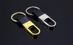 OEM Cuir Métal trousseau de la chaîne de clés pour cadeau promotionnel