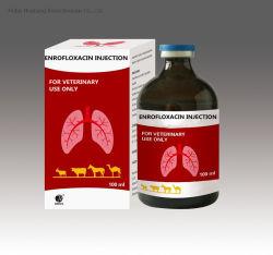 Antibiotische Enrofloxacin 5% Einspritzung für Tiergebrauch Enrofloxacin orale Flüssigkeit