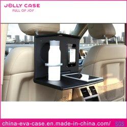 Portable voiture pendaison Laptop Tray Porte-gobelet déjeuner Auto desk Table d'appui tête de siège arrière