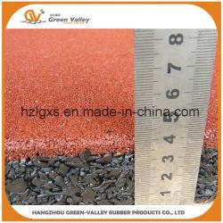 Fr71 a approuvé un Terrain de Jeu Tapis de caoutchouc caoutchouc pour l'École de tuiles de plancher