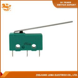 Lema Kw12-8 5una palanca de soldar el Terminal Mini Micro Switch
