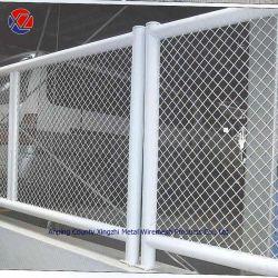 O PVC revestido a folha de metal de aço expandido de compensação da Barragem