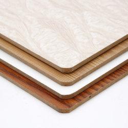 La présence de mélamine feuilleté de papier et de contreplaqué en bois de placage/MDF pour meubles