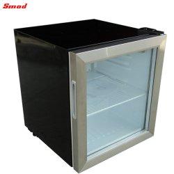 Dispositivo di raffreddamento di vetro commerciale della bevanda di piano d'appoggio della visualizzazione del supermercato mini