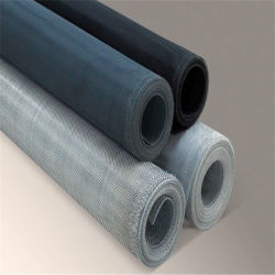 Hot Sale noir en aluminium avec vitre coulissante de la Chine Flyscreen fournisseur