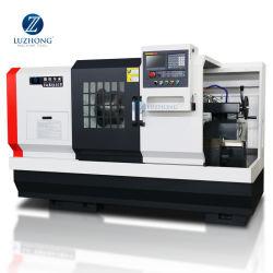 الصفقات الشهرية CAK6150V عالية الجودة الدقة الأفقي المعادن الدوران التلقائي ماكينة CNC