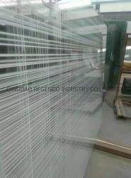 La Chine usine 4-6mm art en verre moulé/ Verre décoratif pour salle de bains et de cloison de port de Qingdao
