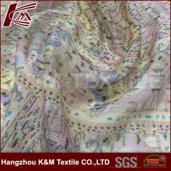 12mm el 30% seda el 70% Algodón Impresión digital de mezcla de algodón tejido de seda para vestir