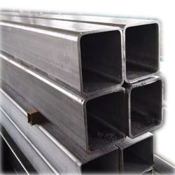 ASTM Стальной профиль Ms трубы квадратного сечения оцинкованные квадратная стальная труба Gi цена трубопровода для строительства и промышленности