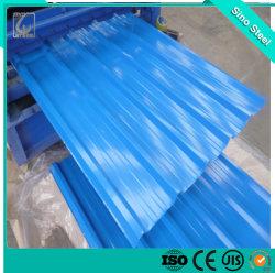 PPGI/Corrugated Zink Dach-Blatt/galvanisierter Stahlpreis pro Kilogramm-Eisen