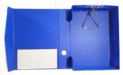 Dossier van het Vakje van pvc het Stijve, de Houder van de Opslag, de Houder van het Dossier, het Vakje van het Document