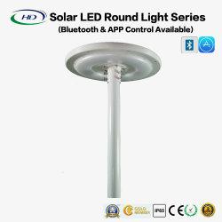 15Вт светодиод солнечной энергии за круглым столом с Bluetooth-APP