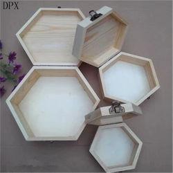 Embalaje de madera Caja de almacenamiento de los conjuntos de la caja de regalo para el almacenamiento