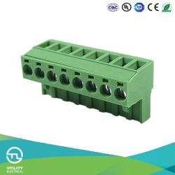 Plug-in bloques terminales PCB Ma2.5h5.08 Base macho hembra Plugable
