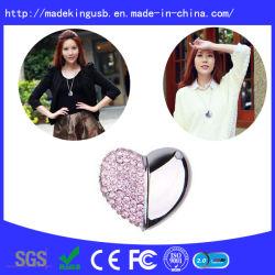 Diamond в форме сердечка флэш-накопитель USB