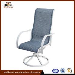 Mobilier de restaurant en plein air en aluminium élingue textiles Président (WFTX-18105C)