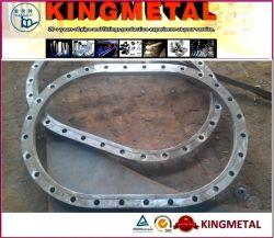 楕円形の角度のリングは楕円形の管のフランジフランジを付けたようになる